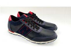 Кожаные кроссовки NB Big Boss blue classic 12