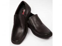 Мужские кожаные туфли комфорт Konors классик