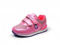 Детская спортивная обувь кроссовки Clibee:F-603 Розовый