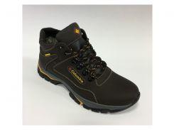 Ботинки мужские зимние CLM STR 150707 коричневые