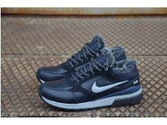 Мужские кожаные ботинки Nike