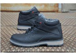 Мужские кожаные ботинки Ecco 46