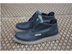 Мужские ботинки Caterpillar  С-2 ЧЕРНЫЙ