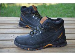 Мужские кожаные ботинки Columbia AND 122 C ЧЕРНЫЙ