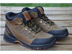 Мужские кожаные ботинки Columbia AND 122 C КОРИЧНЕВЫЙ