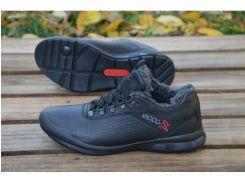 Мужские кожаные ботинки Ecco М-19.