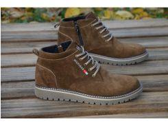 Мужские кожаные ботинки Tommy Hilfiger 565 бот.кор