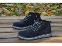 Мужские кожаные ботинки Tommy Hilfiger 565 ботСИН