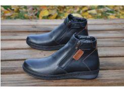 Мужские кожаные ботинки  Ecco 33-4 бот.