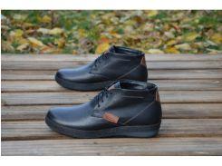 Мужские кожаные ботинки  Ecco 33-3 бот.
