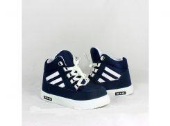 Детские зимние кроссовки Бонни темно-синие