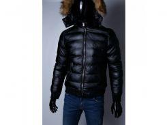 Куртка мужская кожзам на меху G 067738