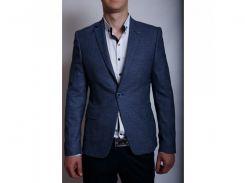 Пиджак мужской льняной LB 559752 синий