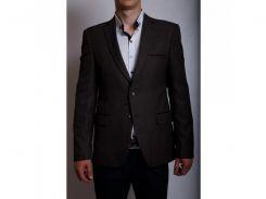 Пиджак мужской приталенный WVR 6214 коричневый