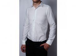 Рубашка мужская Bazol 6171_2 айвори