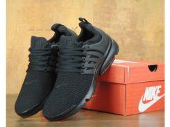 Кроссовки мужские Найк Nike Air Presto ID 'Triple Black'