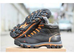 Мужские кожаные ботинки  Merell Shoes black