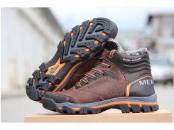 Мужские кожаные ботинки  Merell Shoes brown