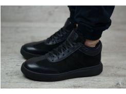 Мужские кожаные ботинки   Б 10-26 нуб