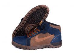 Мужские кожаные ботинки   Nike Big Runner