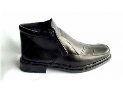 Мужские кожаные ботинки   Leon Квадро