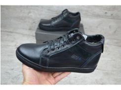 Мужские кожаные ботинки   Zangak  192