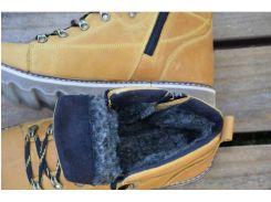 Мужские кожаные зимние ботинки CAT Expensive Arena