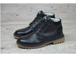 Мужские кожаные зимние ботинки Б 10-33