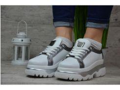 Женские кожаные кроссовки/кеды Philipp Plein