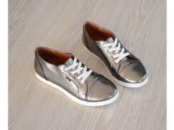 Женские  кроссовки 730 никель кеды