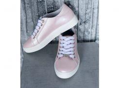 Женские  кроссовки 259 пудра