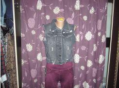 Новинка! джинсовый жилет женский arox турция s-хл