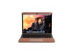 """Кожаный Чехол Melkco Easy-Fit Permium Genuine для Apple MacBook Air 12"""" Brown"""