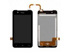 Дисплей для HTC 210 Desire Dual Sim + touchscreen, черный