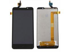 Дисплей для HTC 516 Desire Dual Sim + touchscreen, черный