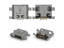 Разъем зарядки Huawei Honor 5/5A/5X/Honor 7/7i, 5 pin, micro-USB тип-B
