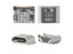 Разъем зарядки Samsung i8552/i9060/i9080/i9082/i9150/i9152/G360H/G361H/T110/T111/T113/T115/T116/T280