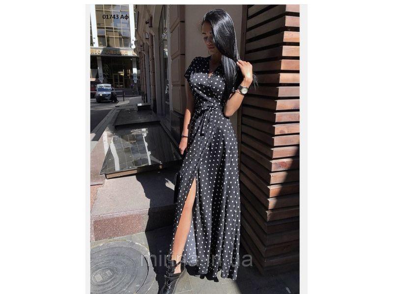 8f6452cd02a Платье летнее в горошек 01743 Аф купить недорого за 540 грн. на ...