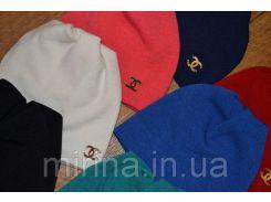 """Женская шапка """"Hermes"""" фиолетовый"""
