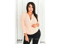 Блуза на запах  068 (41)