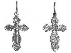 Крестик серебряный арт. 3011 упс