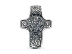Серебряный крестик арт. 3023 упс