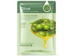 Оливковая маска «Rorec» для лица – очищение, питание.