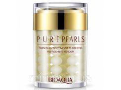 Крем для лица с жемчужной пудрой Bioaqua Pure Pearls. 60 мл