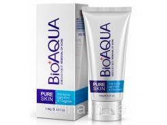 Очищающая пенка для умывания против акне и воспалений Pure Skin BioAqua Anti-Acne
