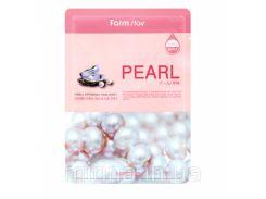 Маска для лица с жемчужным экстрактом Visible Difference Mask Sheet Pearl