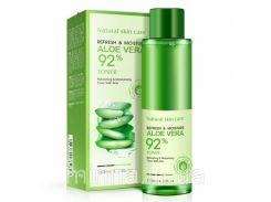 Увлажняющий восстанавливающий тонер BioAqua Refresh&Moisture Aloe Vera 92%