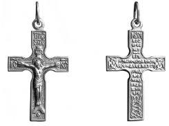 Крестик серебрный арт. 3010 упс