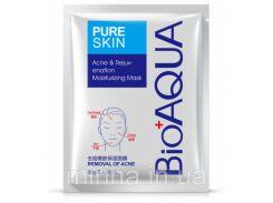Маска для лица Bioaqua Pure Skin Acne Rejuvenation Moisturising Mask, 30 грамм