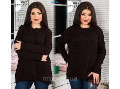 Вязаный женский свитер 1831 Св